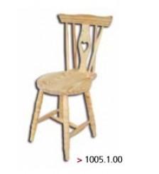 Cadeira de madeira maciça